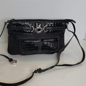 Brighton black shoulder purse